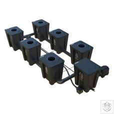 Idrolab 2 Row 6 Pot Large RDWC System