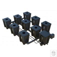 Idrolab 3 Row 9 Pot Large RDWC System