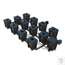 Idrolab 3 Row 12 Pot Large RDWC System