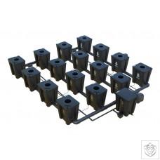 Idrolab 4 Row 16 Pot Large RDWC System
