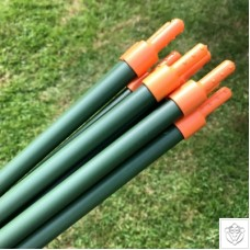 Lock & Roll Extendable Garden Plant Stakes - 0.9m x 16mm dia GardenSkill