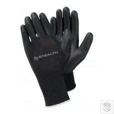 Stealth Pu Handling Gloves x 10
