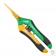 Titanium Coated Curved Blade Precision Pruners HydroGarden