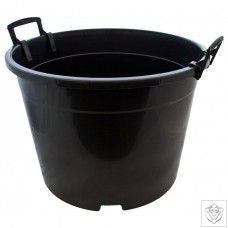 Round Black 65 Litre Pot N/A