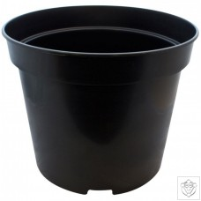 Round Black 25 Litre Pot N/A