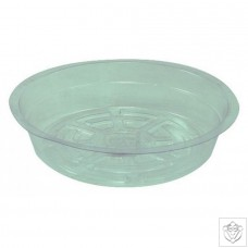 Round Clear Saucers N/A