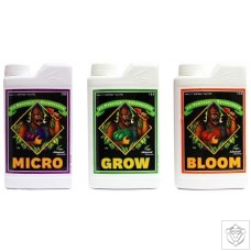 3 Part Micro, Grow and Bloom Advanced Nutrients
