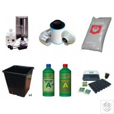 Quality 4 Plant 250W HPS Indoor Soil Grow Kit